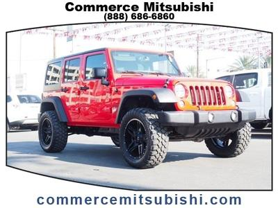 Jeep Wrangler Unlimited 2017 for Sale in Los Angeles, CA