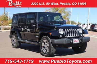Jeep Wrangler Unlimited 2017 a la venta en Pueblo, CO