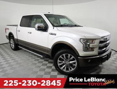 2015 Ford F-150 Lariat for sale VIN: 1FTEW1EF0FKD46666