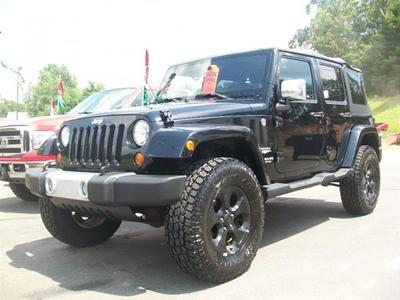 2008 Jeep Wrangler Unlimited Sahara for sale VIN: 1J8GA59118L535958