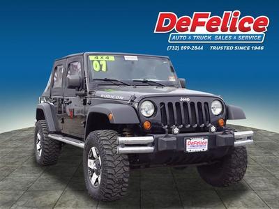 2007 Jeep Wrangler Unlimited X for sale VIN: 1J4GA69107L181663