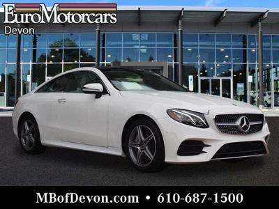 2018 Mercedes-Benz E-Class E 400 4MATIC for sale VIN: WDD1J6GB3JF017097