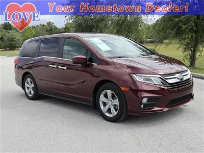 2018 Honda Odyssey EX-L for sale VIN: 5FNRL6H73JB064037