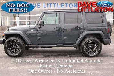 Jeep Wrangler JK Unlimited 2018 for Sale in Smithville, MO