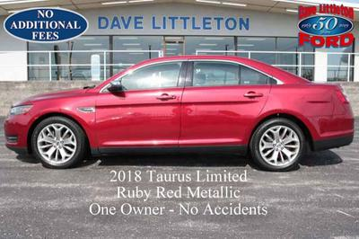 2018 Ford Taurus Limited for sale VIN: 1FAHP2F88JG128377
