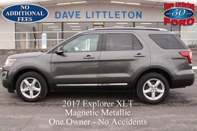2017 Ford Explorer XLT for sale VIN: 1FM5K8D82HGB29631