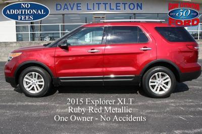 2015 Ford Explorer XLT for sale VIN: 1FM5K8D83FGC12952