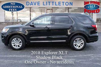 2018 Ford Explorer XLT for sale VIN: 1FM5K8D88JGB48254