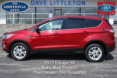 2017 Ford Escape SE for sale VIN: 1FMCU9G98HUA38716