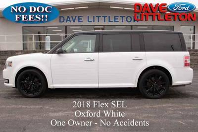 2018 Ford Flex SEL for sale VIN: 2FMHK6C89JBA05419