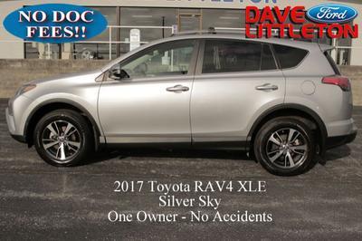 2017 Toyota RAV4 XLE for sale VIN: 2T3RFREV9HW610727