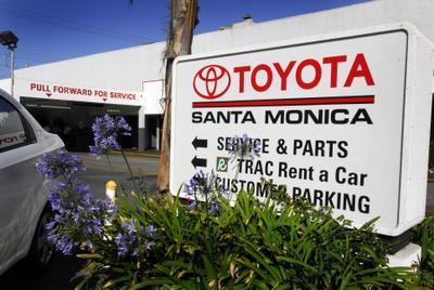 Toyota Santa Monica Service >> Toyota Santa Monica In Santa Monica Including Address Phone Dealer