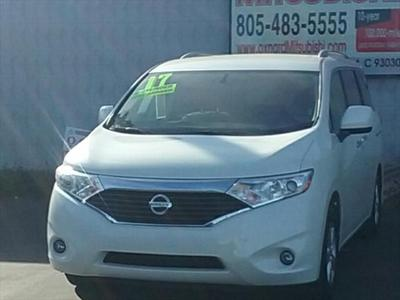 2017 Nissan Quest SV for sale VIN: JN8AE2KP1H9166485