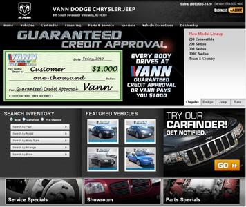 Vann Dodge Chrysler Jeep RAM Image 2