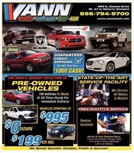 Vann Dodge Chrysler Jeep RAM Image 3