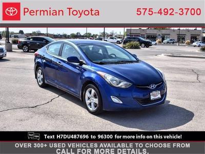 Hyundai Elantra 2013 a la venta en Hobbs, NM