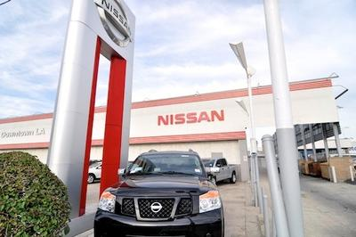 Nissan Dealership Los Angeles >> Nissan Of Downtown L A In Los Angeles Including Address