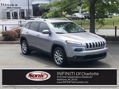 Jeep Cherokee 2018 a la venta en Matthews, NC