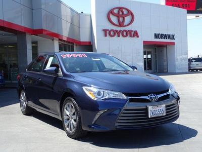 2017 Toyota Camry XLE for sale VIN: 4T1BF1FK4HU697761