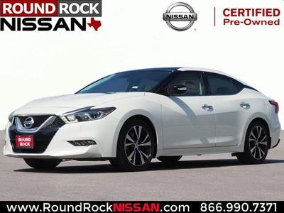 2017 Nissan Maxima 3.5 Platinum for sale VIN: 1N4AA6AP4HC450069
