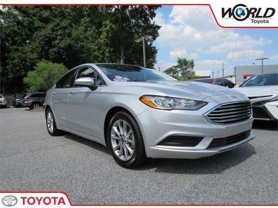 2017 Ford Fusion SE for sale VIN: 3FA6P0H7XHR344931