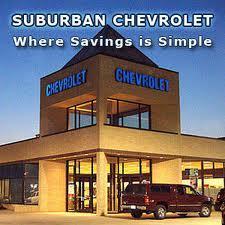 Suburban Chevrolet Image 1