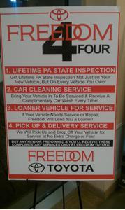 Freedom Toyota Image 1