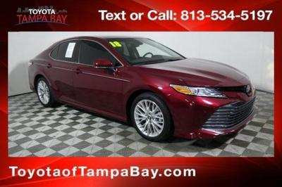 2018 Toyota Camry XLE for sale VIN: 4T1B11HK6JU608094