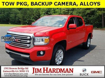 2015 GMC Canyon SLE for sale VIN: 1GTG5BE33F1248504