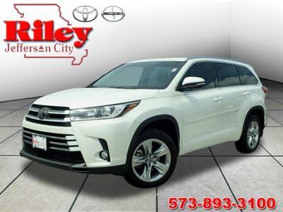 2018 Toyota Highlander Limited for sale VIN: 5TDDZRFH3JS847957