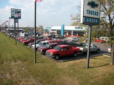 Green Chevrolet Image 9