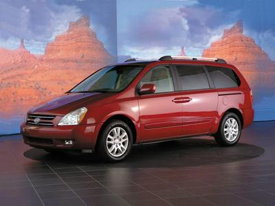 2007 KIA Sedona LX for sale VIN: KNDMB233476110862