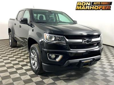 2018 Chevrolet Colorado Z71 for sale VIN: 1GCGTDEN9J1327817