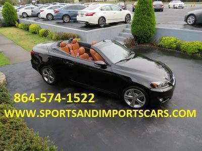 2012 Lexus IS 250C Base for sale VIN: JTHFF2C24C2524728