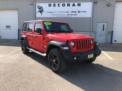 Jeep Wrangler Unlimited 2019 for Sale in Decorah, IA
