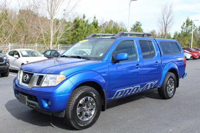 2015 Nissan Frontier Pro-4X for sale VIN: 1N6AD0EV5FN725891