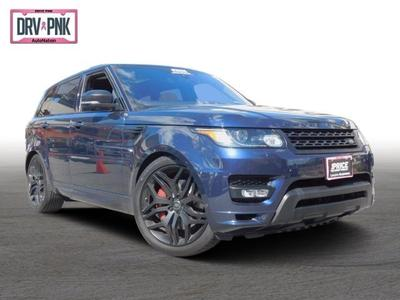 2017 Land Rover Range Rover Sport  for sale VIN: SALWV2FE5HA150419
