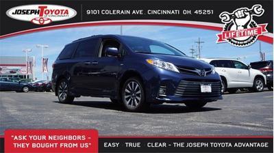 2019 Toyota Sienna XLE for sale VIN: 5TDDZ3DC3KS221721