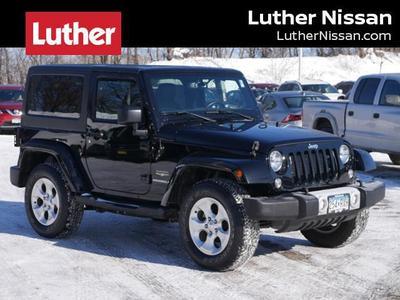 2015 Jeep Wrangler Sahara for sale VIN: 1C4AJWBG6FL709392