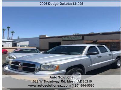 2006 Dodge Dakota SLT Quad Cab for sale VIN: 1D7HE48K56S599319