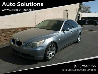 2006 BMW 530 i for sale VIN: WBANE73576CM37022