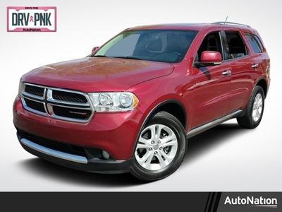 2013 Dodge Durango Crew for sale VIN: 1C4RDJDG0DC617685