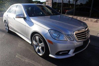 2011 Mercedes-Benz E-Class E 350 4MATIC for sale VIN: WDDHF8HB5BA295119