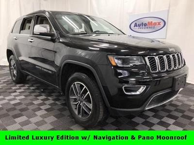2019 Jeep Grand Cherokee Limited for sale VIN: 1C4RJFBG4KC600488