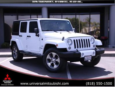Jeep Wrangler Unlimited 2016 for Sale in Duarte, CA