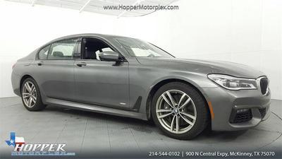 2016 BMW 750 i for sale VIN: WBA7F0C54GGL99224