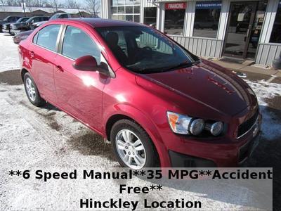 2012 Chevrolet Sonic 1LT for sale VIN: 1G1JD5SB3C4196980