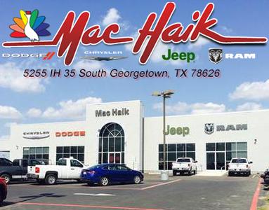 Maik Haik Dodge >> Mac Haik Dodge Chrysler Jeep Ram In Georgetown Including