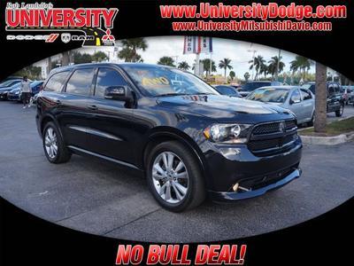 2012 Dodge Durango R/T for sale VIN: 1C4SDJCT7CC172828