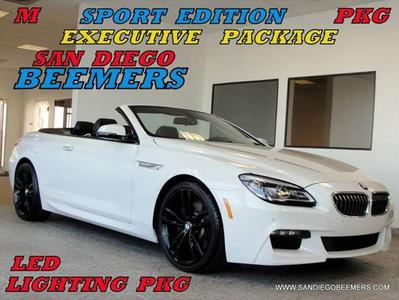 2016 BMW 640 i for sale VIN: WBA6F1C55GGT83096